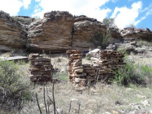 Homestead ruins