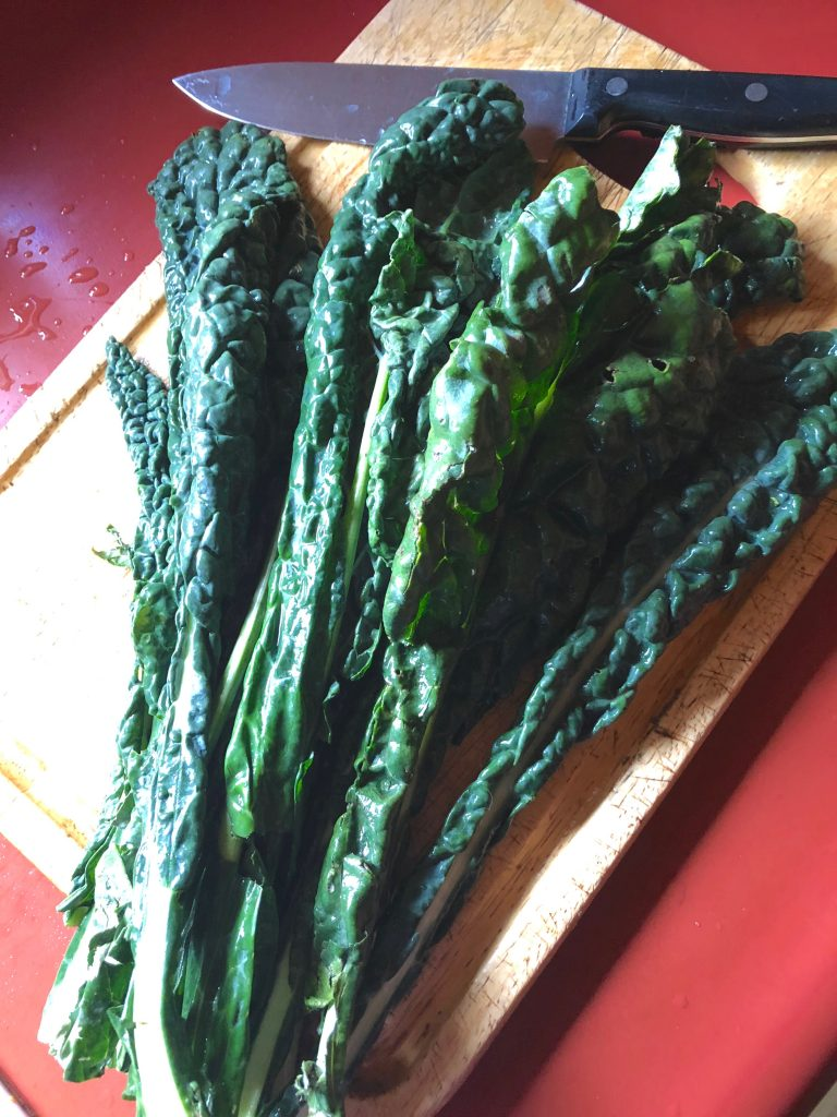 It takes kale to make kale chips