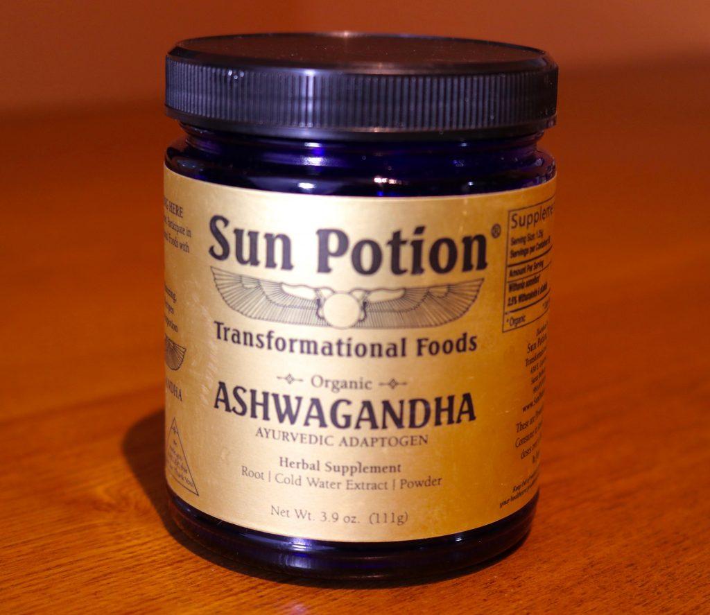 Sun Potion Ashwaganda powder