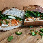 Vegan Banh Mi Sandwich