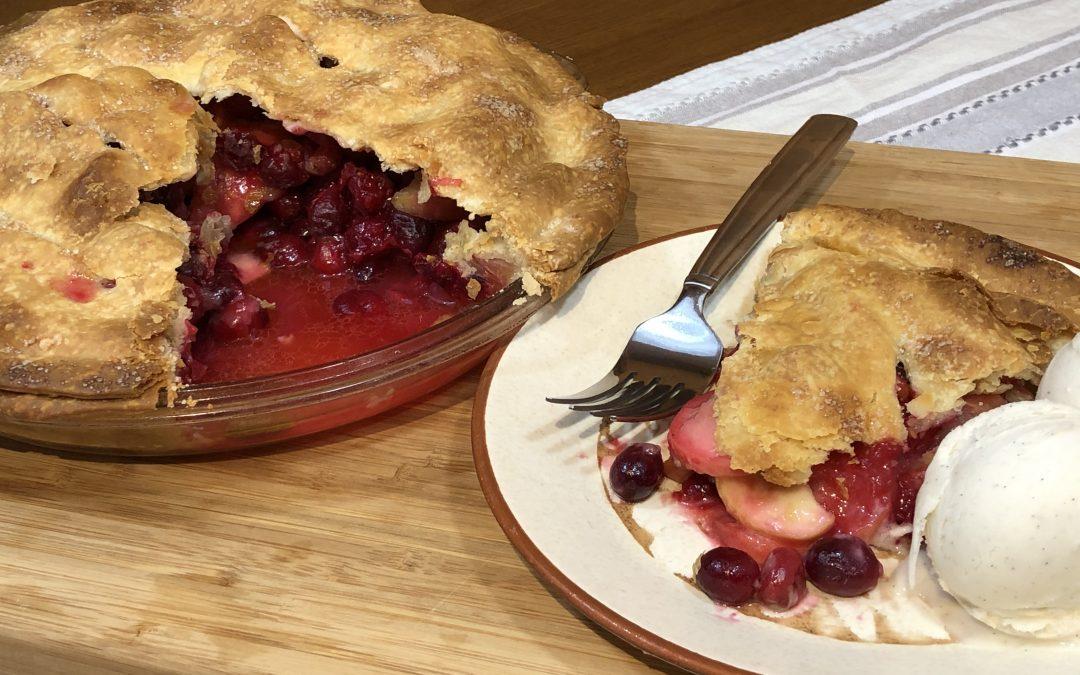 Cranberry Apple Pie   Easy to Make   Vegan