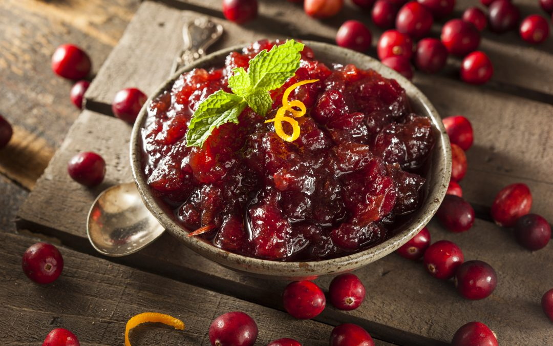 Easy Cranberry Sauce with Orange Juice and Mulling Spices