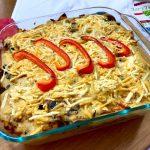 Veggie Polenta Bake recipe