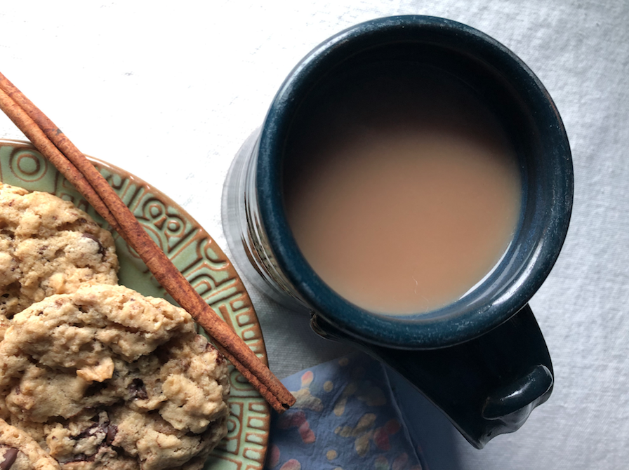 Ginger Vanilla Chai goes great with some homemade cookies!