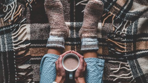 Cozy up to a warm cup of Ginger Vanilla Chai