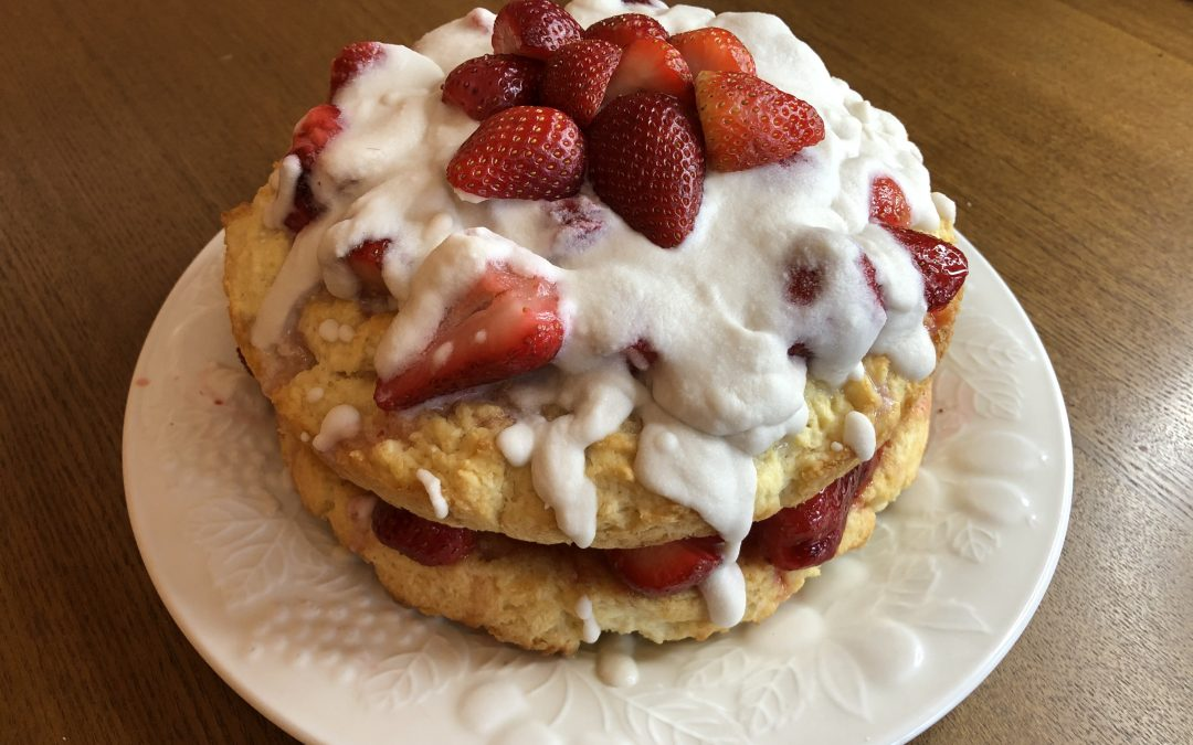 Vegan Strawberry Shortcake | Sweet and Simple
