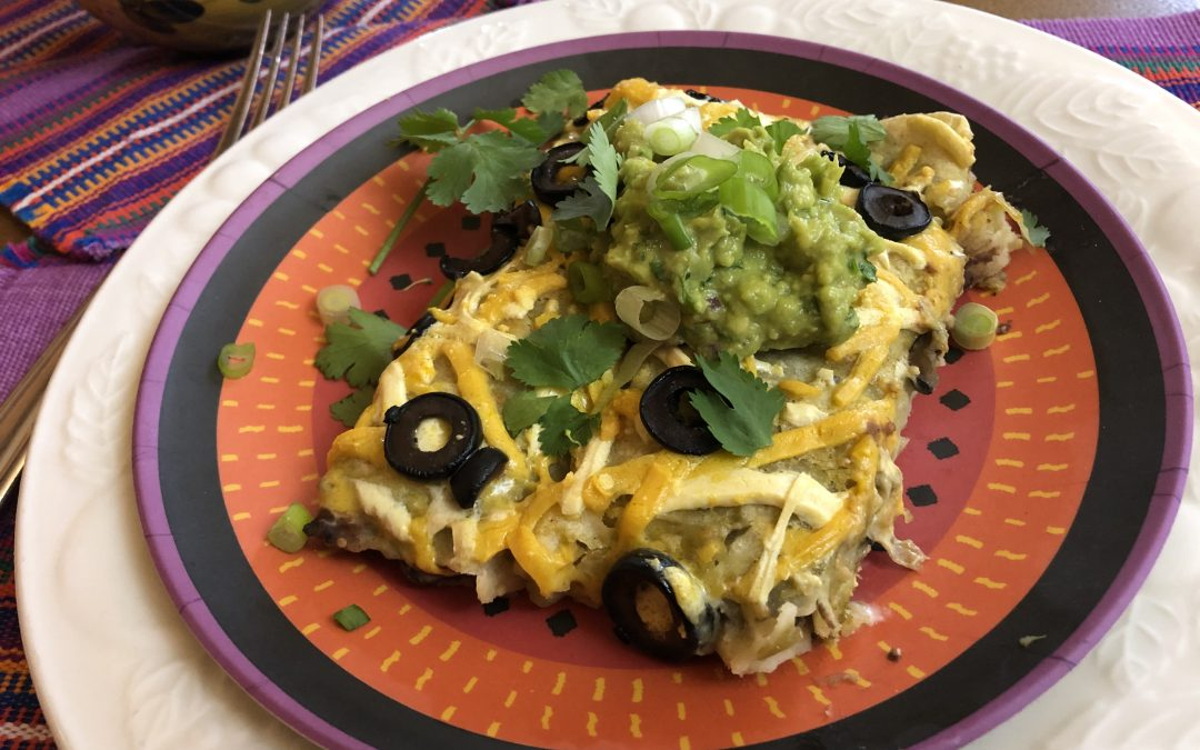 Easy Vegan Enchiladas – 5 Ingredients