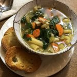 King Oyster Mushrooms Soup