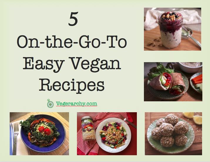 Easy Vegan Recipes E-Book cover
