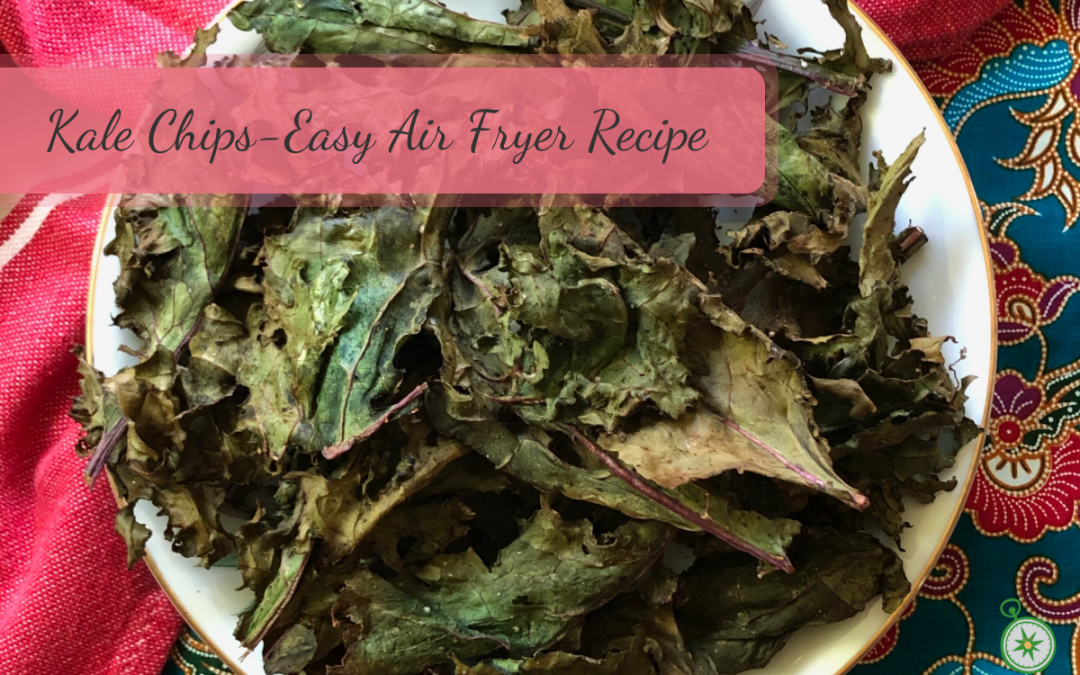 Kale Chips – Easy Air Fryer Recipe with Flavor Variations