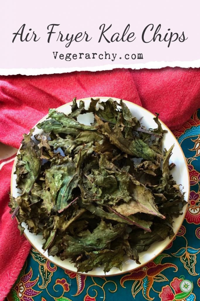 Pin this Kale Chip recipe