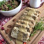 Crispy breaded tofu cutlets with a delicious and easy vegan gravy