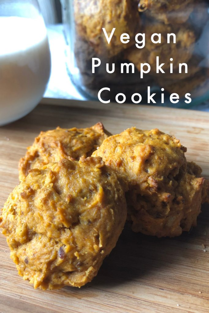 Pumpkin Spice Cookies pin
