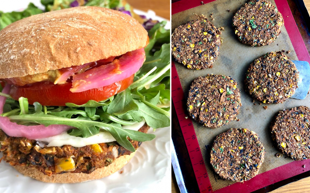 The Best Black Bean Burgers // Vegan, Gluten-Free, Oil-Free