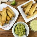 Taquitos with dips