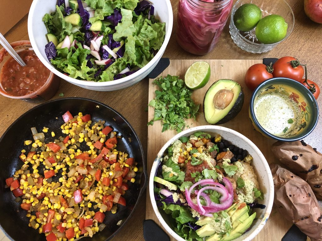 Mexican meal prep overview