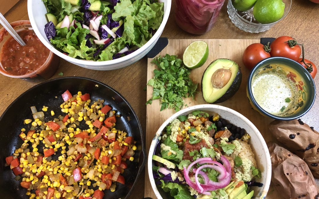Mexican-Inspired Vegan Meal Prep + Free PDF 5-day Meal Plan