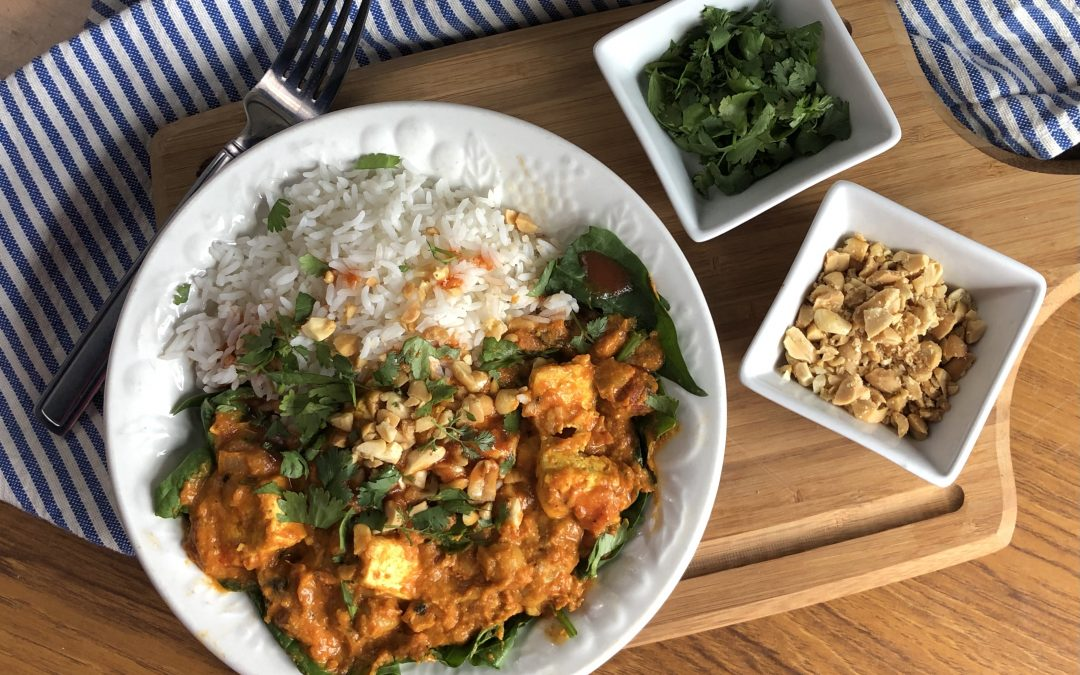 Congo Tofu – West African-Inspired Peanut Stew // Vegan